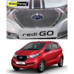 Buy Datsun Redi Go Chrome Grill Garnish online at low prices | Rideofrenzy