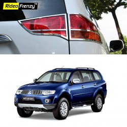 Buy Pajero Sport Chrome Tail Light Covers online India | Rideofrenzy