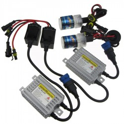 Buy White H4 8000K Car Head Light HID Light Conversion Kit at low prices-RideoFrenzy