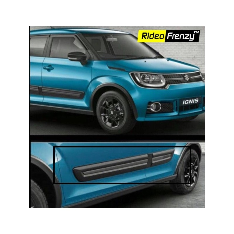 Buy Maruti Ignis Black Side Cladding At Best Prices