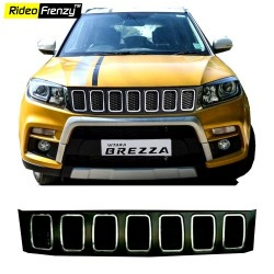 Buy Vitara Brezza Jeep Grill @ 2499| Imported | Custom Fit | Modified