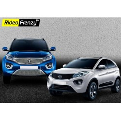 Buy Tata NEXON Chrome Grill (Upper+Lower) at low prices-RideoFrenzy