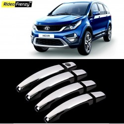 Buy Tata HEXA Chrome Handle Covers at low prices-RideoFrenzy