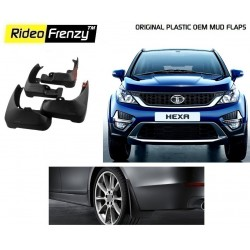 Buy Original OEM Tata HEXA Mud Flaps online at low prices-RideoFrenzy
