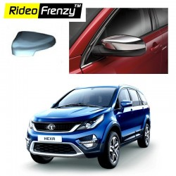 Buy Tata HEXA Chrome Mirror Covers at low prices-RideoFrenzy