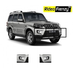 Buy Mahindra Scorpio Chrome Fog Lamp Show online at low prices | RideoFrenzy
