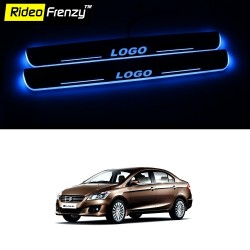 Buy Maruti Ciaz 3D Power LED Illuminated Sill/Scuff Plates at low prices-RideoFrenzy