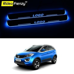 Buy Tata NEXON 3D Power LED Illuminated Sill/Scuff Plates online at best prices-RideoFrenzy
