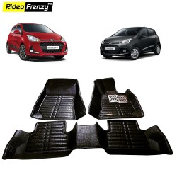Hyundai Grand i10 Full Bucket Floor Mats|Free Shipping|Rideofrenzy