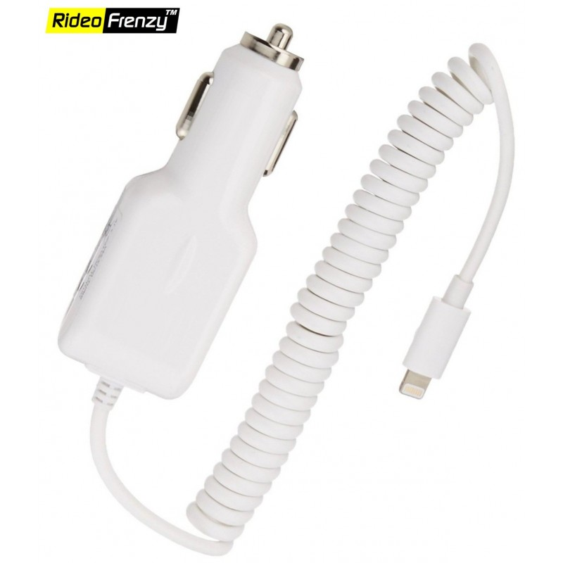 Buy Apple iphone Car Charger online for Iphone 5|Iphone 5S|Iphone 6|Iphone 6+|Iphone 6S|Iphone 7 AND Iphone 7 Plus