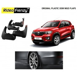 Buy Plastic OEM Renault Kwid Mud Flaps online at low prices | Rideofrenzy