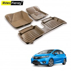 Buy Honda Jazz Full Bucket 5D Crocodile Floor Mats|Free Shipping