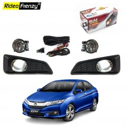 Buy Original Honda City Ivtec & Idtec Fog Lamps with wiring Kit at best prices-RideoFrenzy