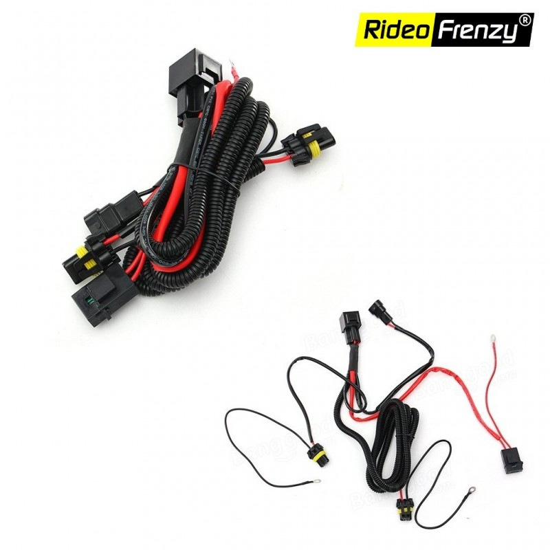 Pleasant Buy Wiring Harness Relay Kit For Xenon Hid Conversion Rideofrenzy Wiring 101 Akebretraxxcnl