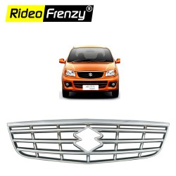 Buy Premium Alto K10 Front Chrome Grill Covers at low prices-RideoFrenzy
