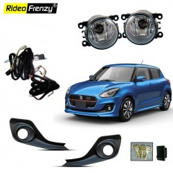 Buy Maruti Suzuki Swift 2018 Fog Lamp Light with Wiring & Button Included online India