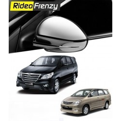 Buy Triple layer Toyota Innova Chrome Side Mirror Covers online at low prices-Rideofrenzy