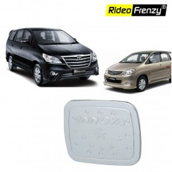 Buy Toyota Innova Chrome Fuel Tank Cover Garnish online at low prices-Rideofrenzy