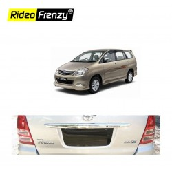Buy Toyota Innova Rear Chrome Garnish online at low prices-Rideofrenzy