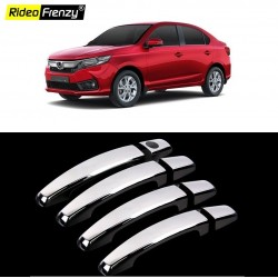 Buy New Honda Amaze 2018 Chrome Handle Covers online at low prices-RideoFrenzy
