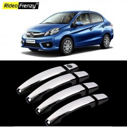 Buy Honda Amaze Chrome Handle Covers online at low prices-RideoFrenzy