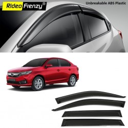 Buy Unbreakable New Amaze 2018 Door Visors in ABS Plastic at low prices-RideoFrenzy