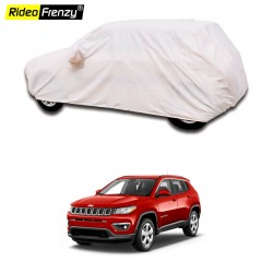 Buy Heavy Duty 100% Waterproof Jeep Compass Car Body Cover online at low prices-RideoFrenzy