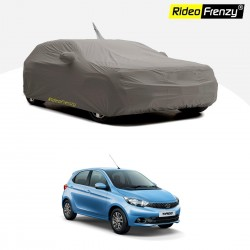 Buy Tata Tiago Body Cover with Antenna & Mirror Pocket at low prices-RideoFrenzy
