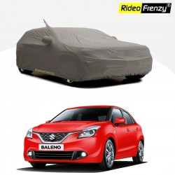 Buy Maruti Baleno car body cover online with Mirror & Antenna Pockets | Free Shipping