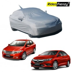 Premium Fabric Honda City Ivtec/Idtec Body Cover with Mirror & Antenna Pockets