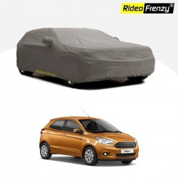 Buy Premium Fabric New Ford Figo Body Cover with Mirror Pockets at low prices-RideoFrenzy