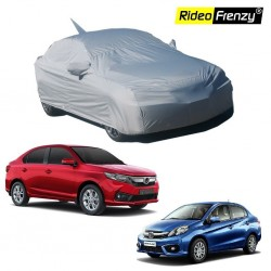 Buy Honda Amaze Body Cover for with Mirror & Antenna Pockets online at low prices-Rideofrenzy