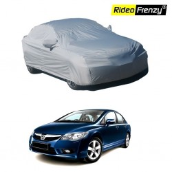 Buy Premium Fabric Honda Civic Body Cover with Mirror Pockets at low prices-RideoFrenzy