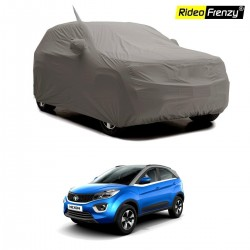 Buy Premium Fabric for Tata NEXON Body Cover with Mirror Pockets at low prices-RideoFrenzy