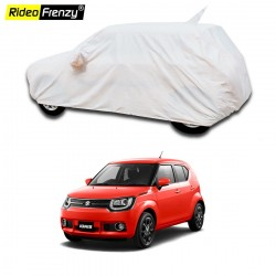 100% Waterproof Maruti Ignis Car Body Cover with Mirror & Antenna Pocket