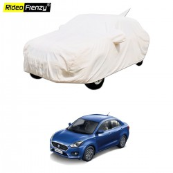 Buy Maruti New Dzire 2017 Car Cover with Mirror & Antenna Pocket | Waterproof | American Matty Fabric