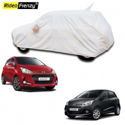 Buy 100% Waterproof Hyundai Grand i10 Car Body Cover with Mirror & Antenna Pocket online