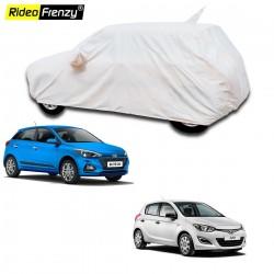 100% Waterproof Hyundai Elite i20 Car Body Cover with Mirror & Antenna Pocket online