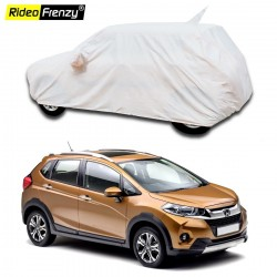 Buy 100% Waterproof Honda WRV Car Body Cover with Mirror & Antenna Pocket online at Rideofrenzy