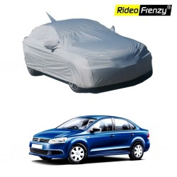 Buy Volkswagen Vento Body Cover with Mirror & Antenna Pockets online at best prices | Rideofrenzy