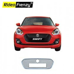 Buy New Swift 2018 Chrome Grill Covers at low prices-RideoFrenzy