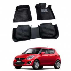 Buy Maruti Swift Full Bucket 5D Floor Mats online at low prices in India