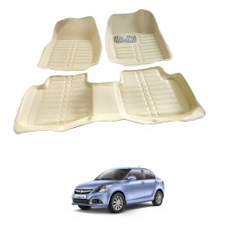 Buy Swift Dzire Full Bucket 5D Floor Mats Online at low prices in India