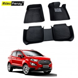 Buy Ford Ecosport Full Bucket 5D Floor Mats online at lowest price in India