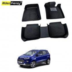 New Ford Ecosport Full Bucket 5D Crocodile Floor Mats