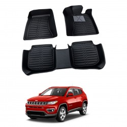 Buy Jeep Compass Full Bucket 5D Floor Mats online at lowest price in India