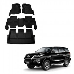 Buy New Toyota Fortuner 2016 5D Floor Mats online at lowest price in India