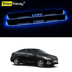 Buy Next Gen Verna 3D Power LED Illuminated Sill/Scuff Plates at low prices-RideoFrenzy