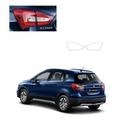 Buy Maruti S Cross Chrome Tail Light Garnish at low prices-RideoFrenzy