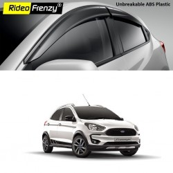 Buy Unbreakable Ford FreeStyle Door Visors in ABS Plastic at low prices-RideoFrenzy